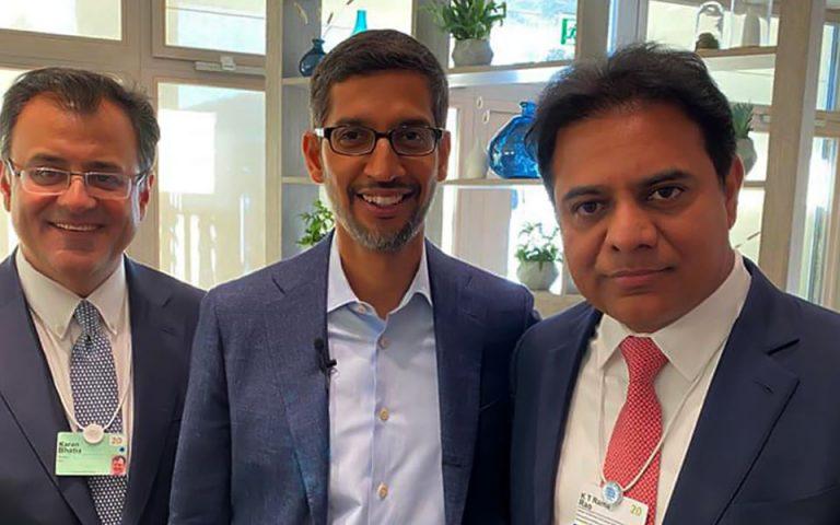 Alphabet-Inc.-and-Google-CEO-Sundar-Pichai-met-Minister-KTR