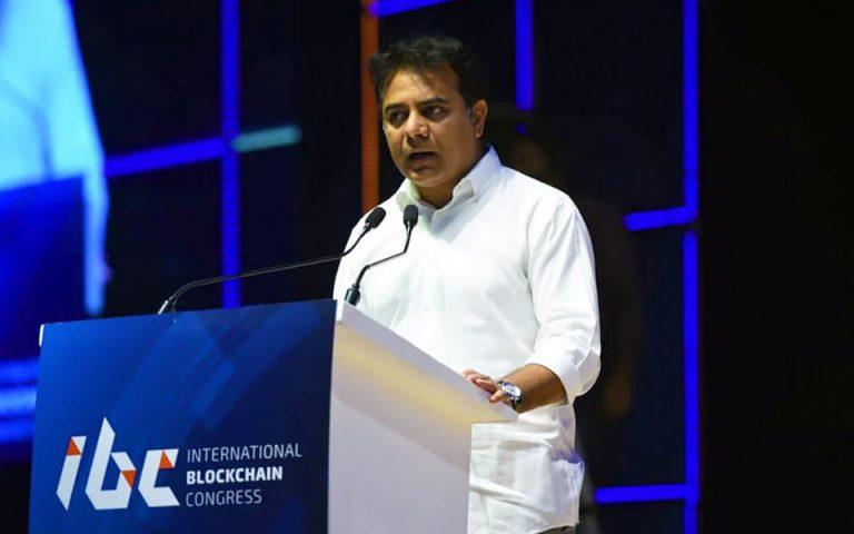 Minister-KT-Rama-Rao-addressed-in-International-Blockchain-Congress-in-Hyderabad-03-08-2018-03-1