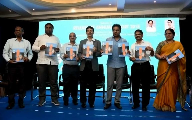 Minister-KT-Rama-Rao-addressing-released-IT-Depts-Annual-Report-01-06-2018