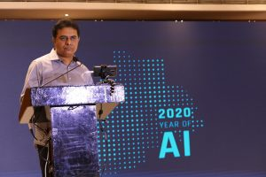 Minister KTR @ Year of AI launch