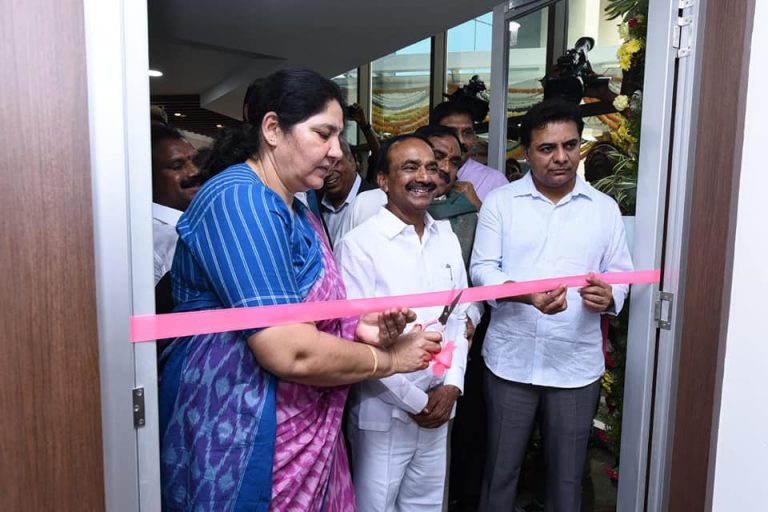 Minister-KTR-inaugurated-Cyient-Development-Centre-in-Warangal-07-01-2020-02