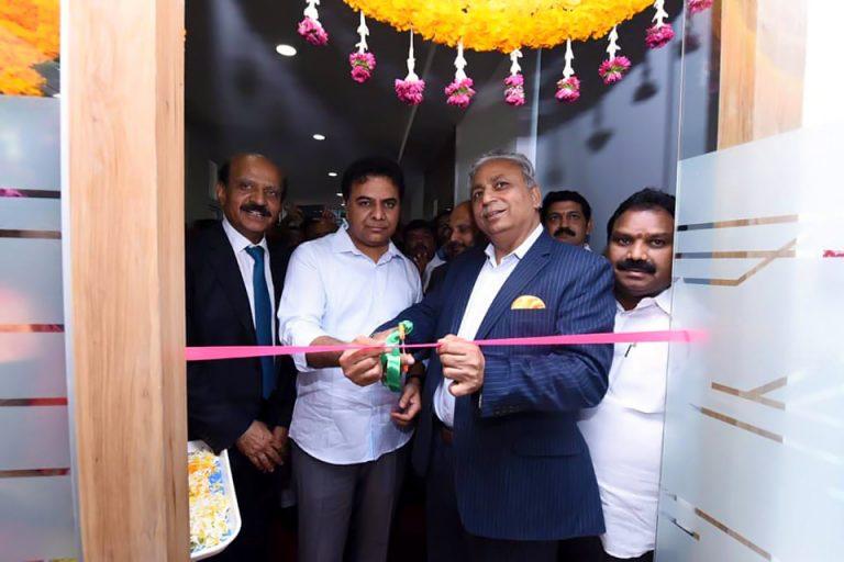 Minister-KTR-inaugurated-the-Tech-Mahindra-Campus-in-Warangal-07-01-2020