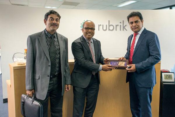 Minister-KTR-met-Bipul-Sinha-CEO-and-Sr-Management-team-Rubrik-Inc-25-05-2017-03