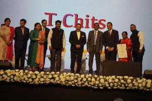 T-chits Gold award
