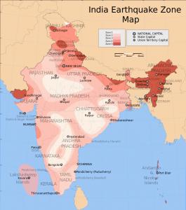 India Earthquake Map